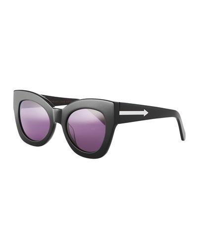 Northern Lights Cat-Eye Sunglasses