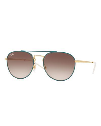 Gradient Square Sunglasses