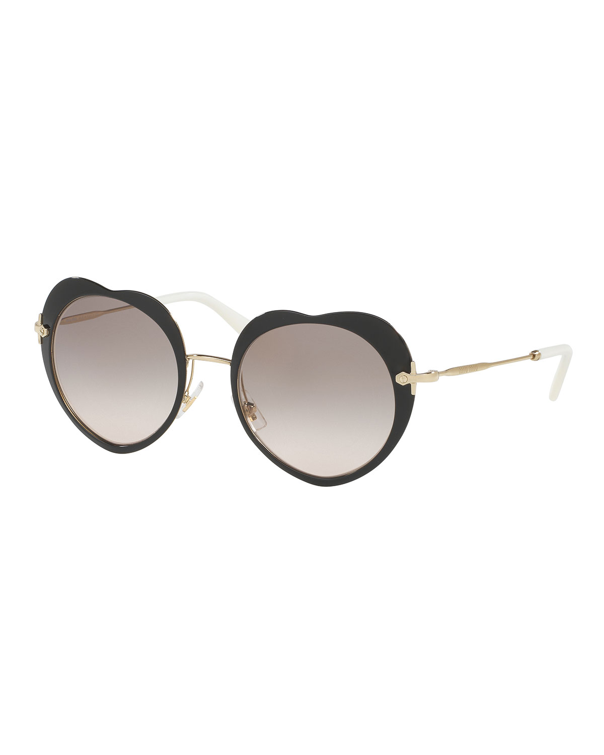 Mirrored Heart Sunglasses