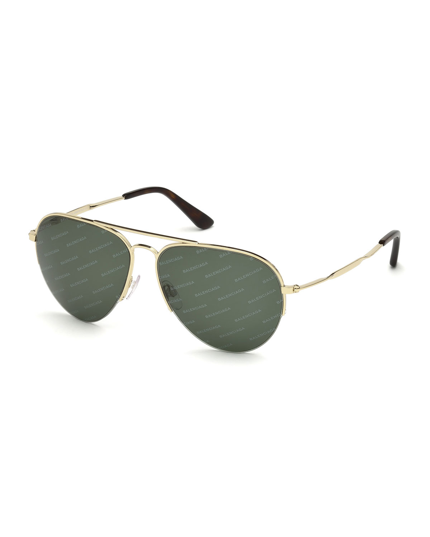 Logomania Aviator Sunglasses