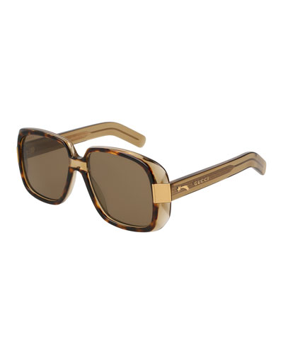 3b3a18da5c Oversized Square Acetate Sunglasses