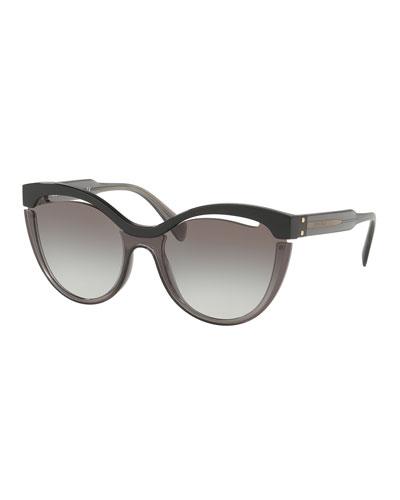 Butterfly Cutout Sunglasses