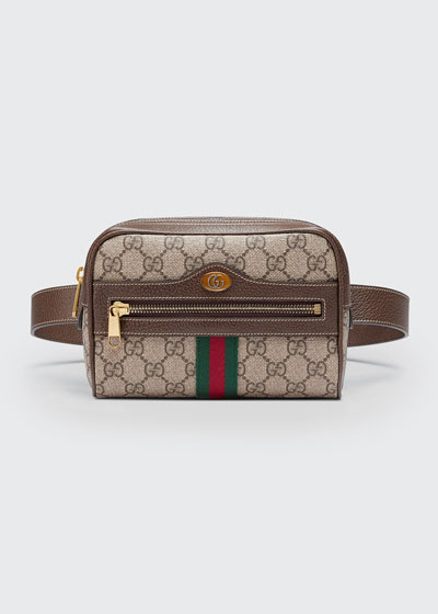 6976eee9a16f Ophidia GG Supreme Canvas Belt Bag Quick Look. Gucci