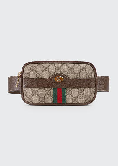 Ophidia GG Supreme Canvas Belt Bag
