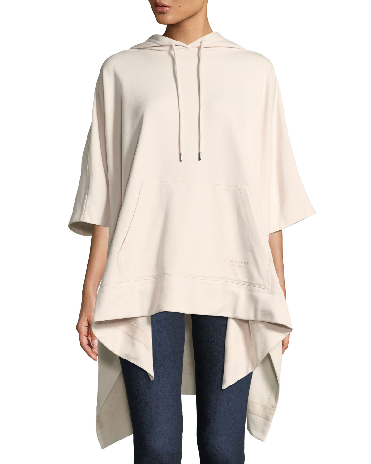 Leila Jersey Hooded Poncho