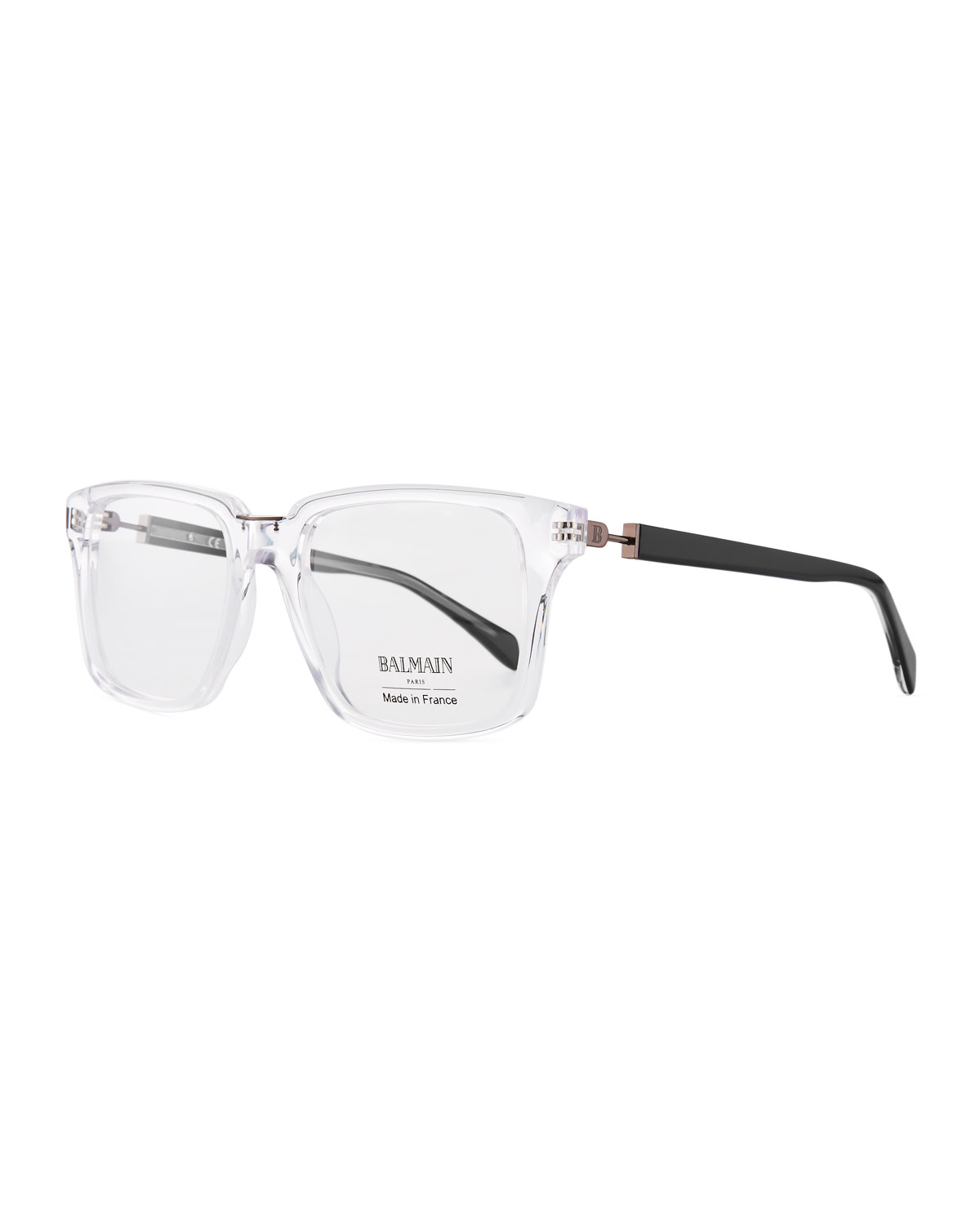 Clear Acetate Square Optical Glasses
