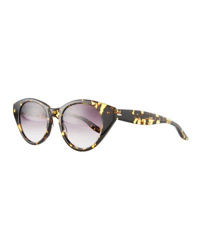 Kismet Cat-Eye Gradient Sunglasses