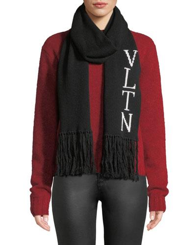 VLTN Knitted Scarf