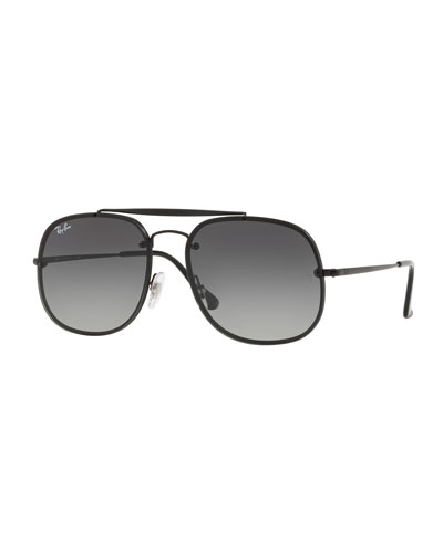 d6bc79ca50c66e General Blaze Lens-Over-Frame Square Sunglasses Quick Look. Ray-Ban