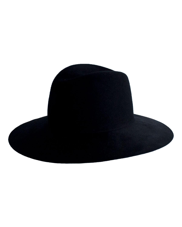 Janessa Leone TROIS WOOL FEDORA HAT