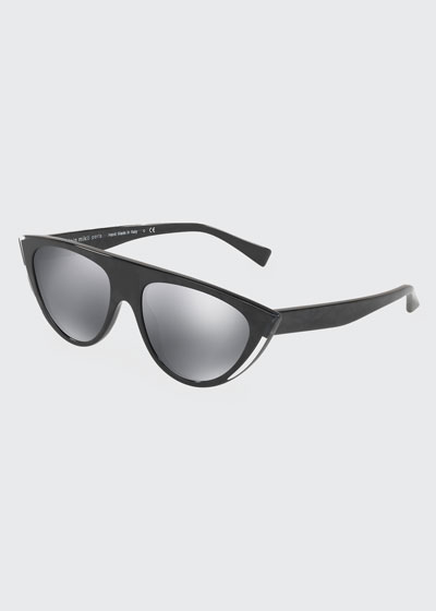 Cat Eye Mirrored Sunglasses Bergdorfgoodman Com