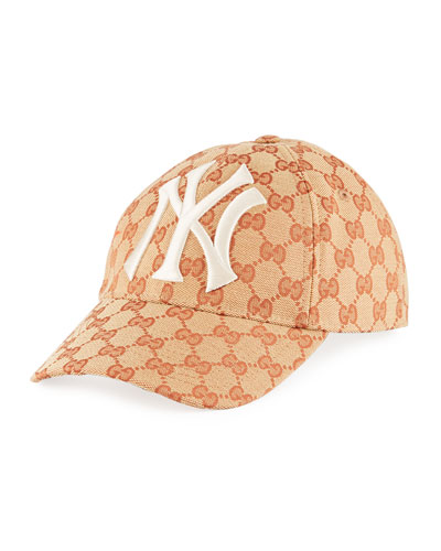 47d1a3142a2 NY Yankees GG Supreme Baseball Hat Quick Look. Gucci