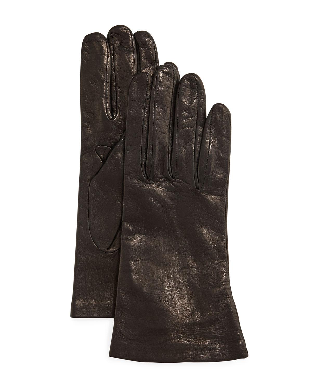 Portolano Gloves SILK LINED LEATHER GLOVES