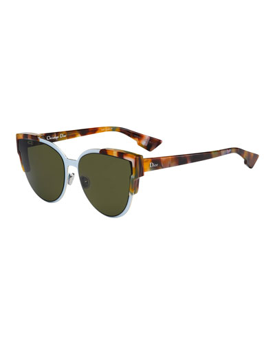 14f031fc663 Wildly Dior Cat-Eye Sunglasses