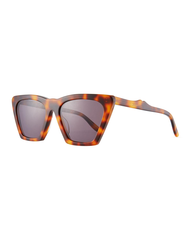 Illesteva Sunglasses LISBON CAT-EYE ACETATE SUNGLASSES