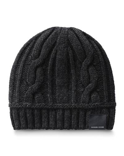 af3e4a25666 Cable-Knit Toque Beanie Hat