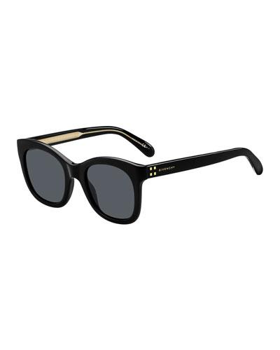Givenchy Rectangle Acetate Sunglasses