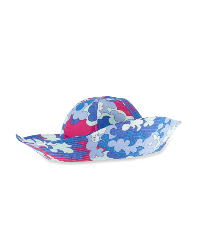 Printed Beach Hat