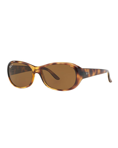 Polarized Oval Sunglasses