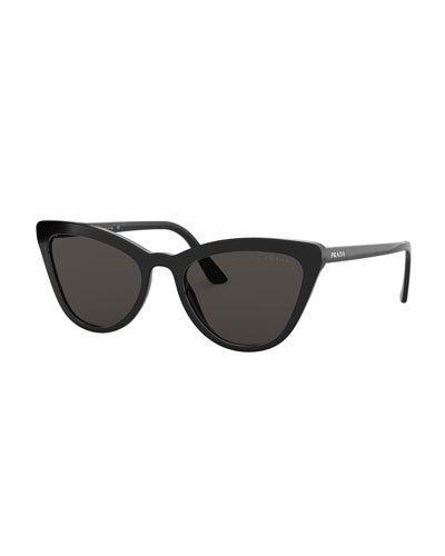 28c90f75f249 Acetate Cat-Eye Sunglasses Quick Look. Prada