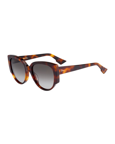 Dior Acetate Butterfly Sunglasses