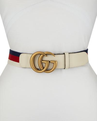 2011ba41505 GG Marmont Web Belt