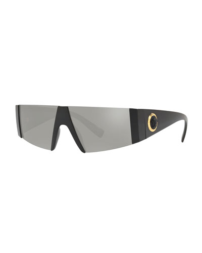 5b13b4a75e Semi-Rimless Rectangle Sunglasses Quick Look. Versace