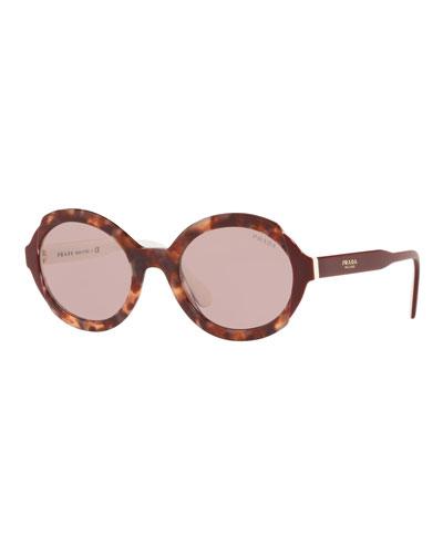 1835f403587 Oval Acetate Sunglasses Quick Look. Prada