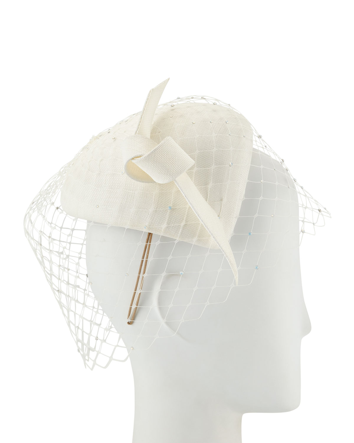Philip Treacy Accessories HAND-BLOCKED STRAW CALOTTE