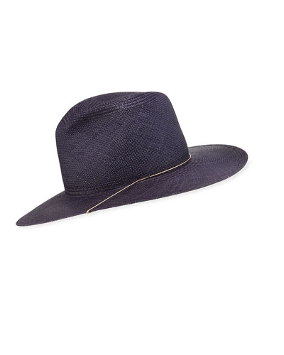 Ines Straw Fedora Hat