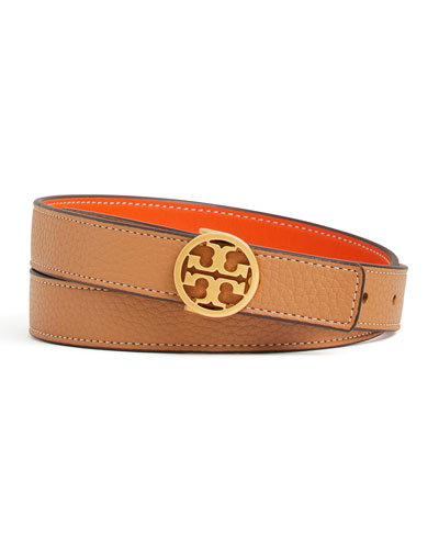 Reversible Logo-Buckle Belt