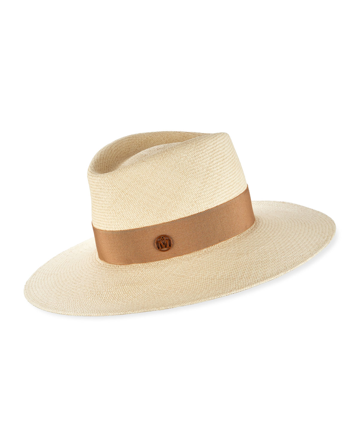Maison Michel Hats CHARLES TIMELESS FEDORA HAT