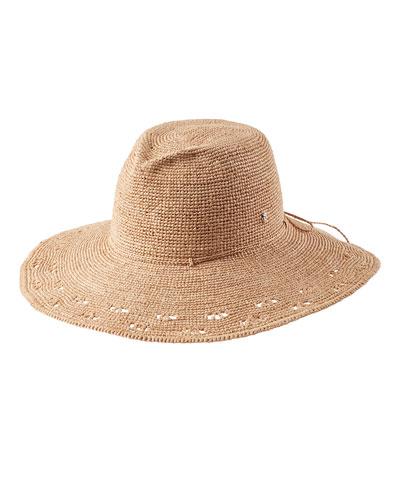 Eliana Raffia Fedora Hat