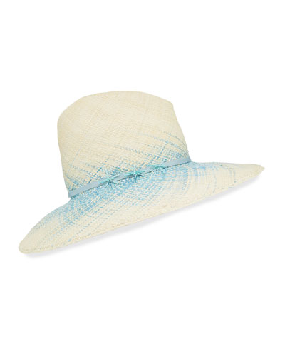 Drake Ombre Woven Straw Panama Hat
