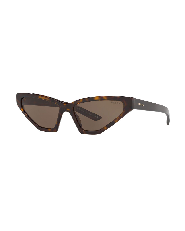 Prada Sunglasses SLIM BUTTERFLY ACETATE SUNGLASSES