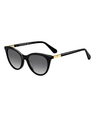 kate spade new york janalynn cat-eye sunglasses -