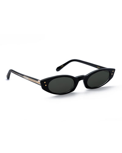 Fern Cat-Eye Sunglasses