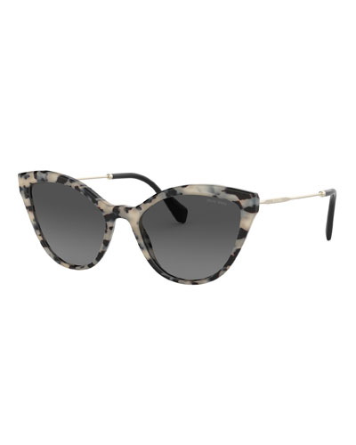8e57ba399a9e Acetate   Metal Cat-Eye Sunglasses Quick Look. Miu Miu