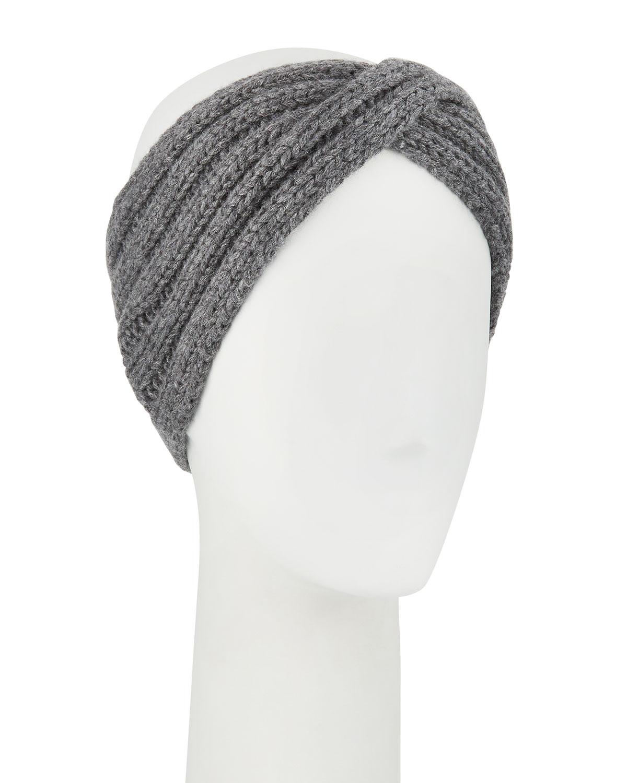 Il Borgo Headbands KNIT EAR-WARMER HEADBAND