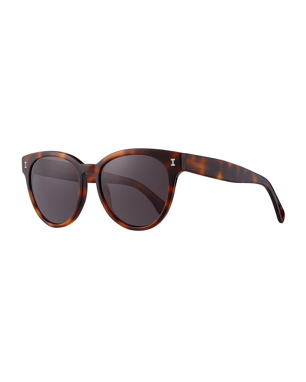 Illesteva Sunglasses YORK ACETATE BUTTERFLY SUNGLASSES
