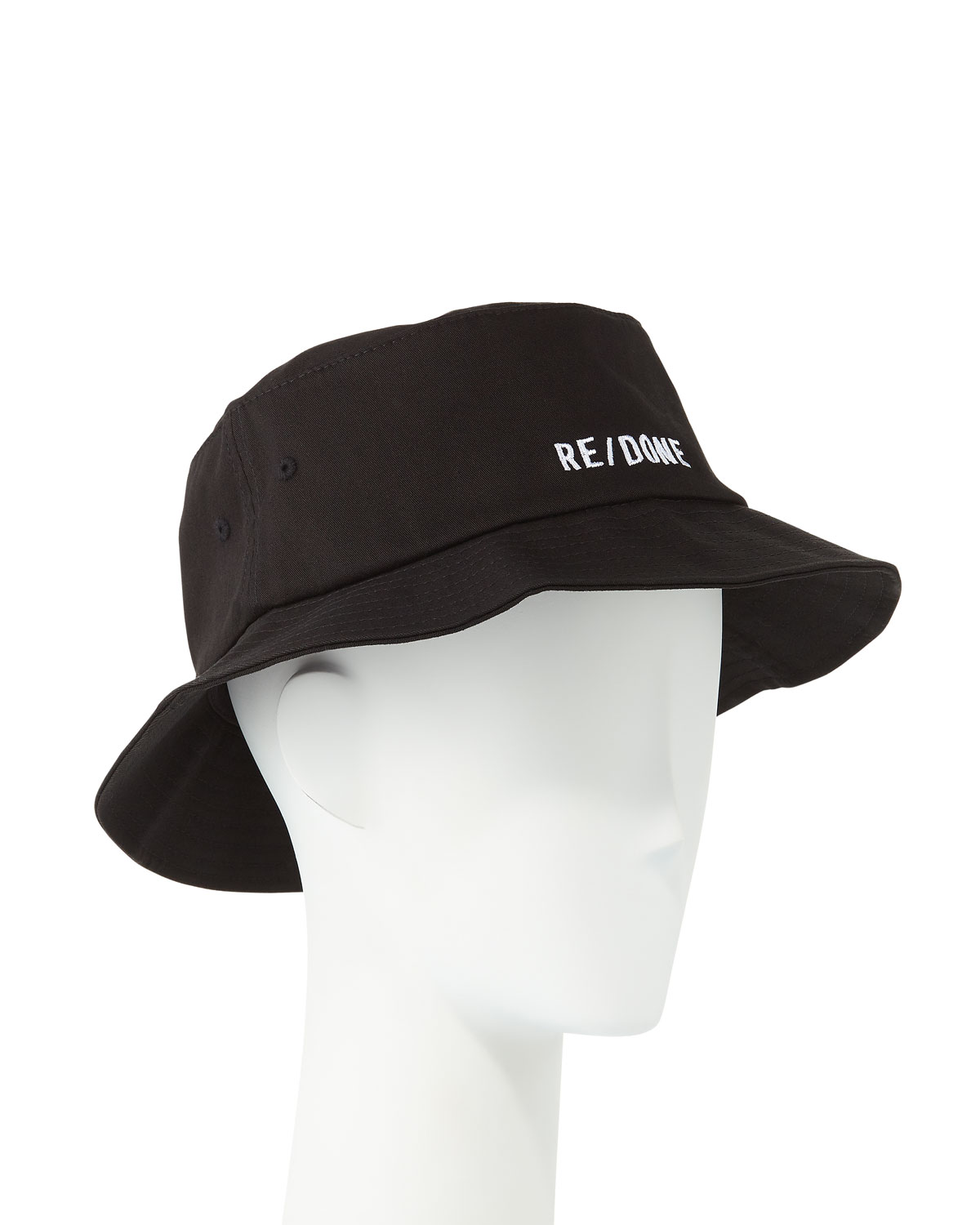 Re/done Hats EMBROIDERED LOGO BUCKET HAT