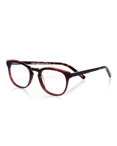 Surprise Round Acetate Reading Glasses