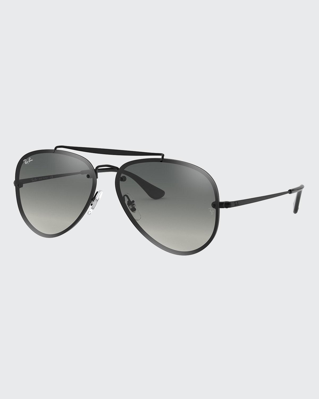 Ray Ban Sunglasses MIRRORED AVIATOR SUNGLASSES