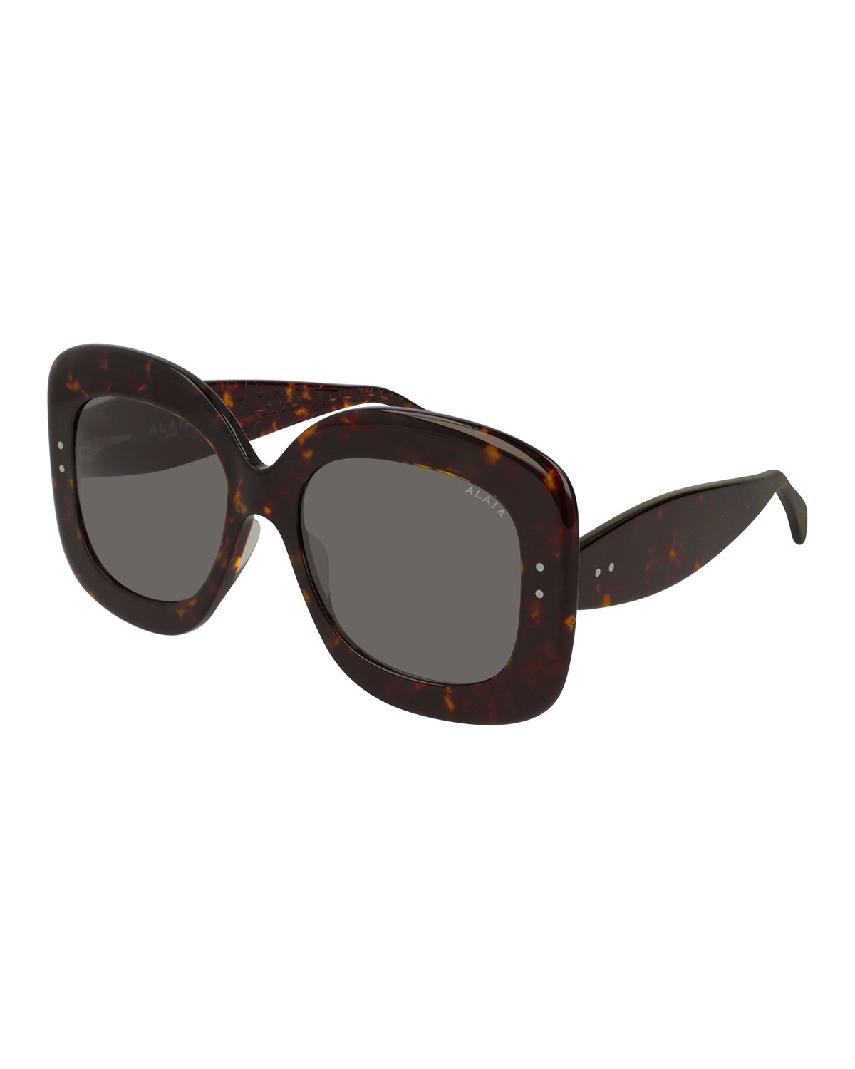Alaïa Sunglasses SQUARE ACETATE SUNGLASSES