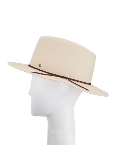 Andre On The Go Rabbit Felt Fedora Hat