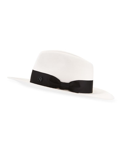 Rico Rabbit Felt Fedora Hat w/ Satin Band