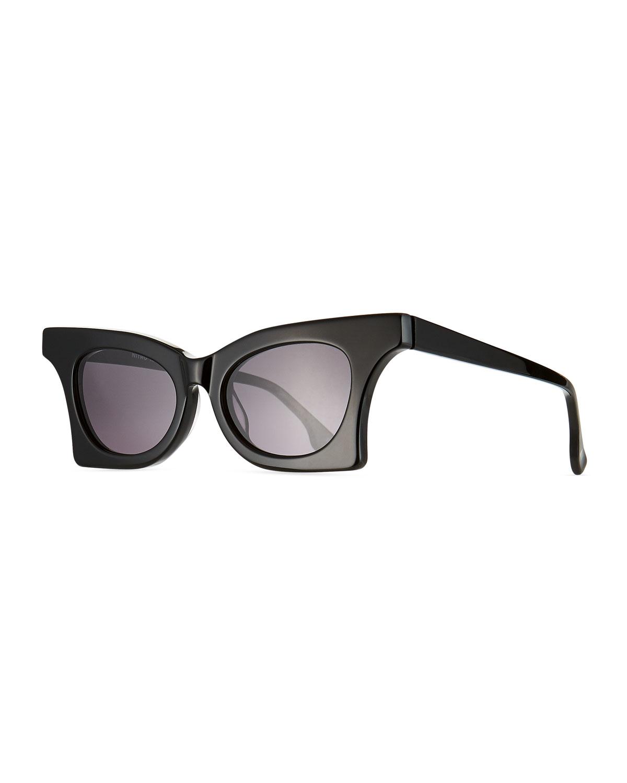 Le Specs Sunglasses NITRO CAT-EYE ACETATE SUNGLASSES
