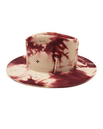 Mystic Beaver Felt Fedora Hat