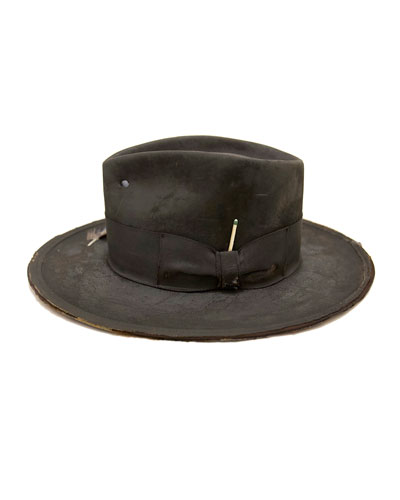 The North End Distressed Beaver Felt Fedora Hat