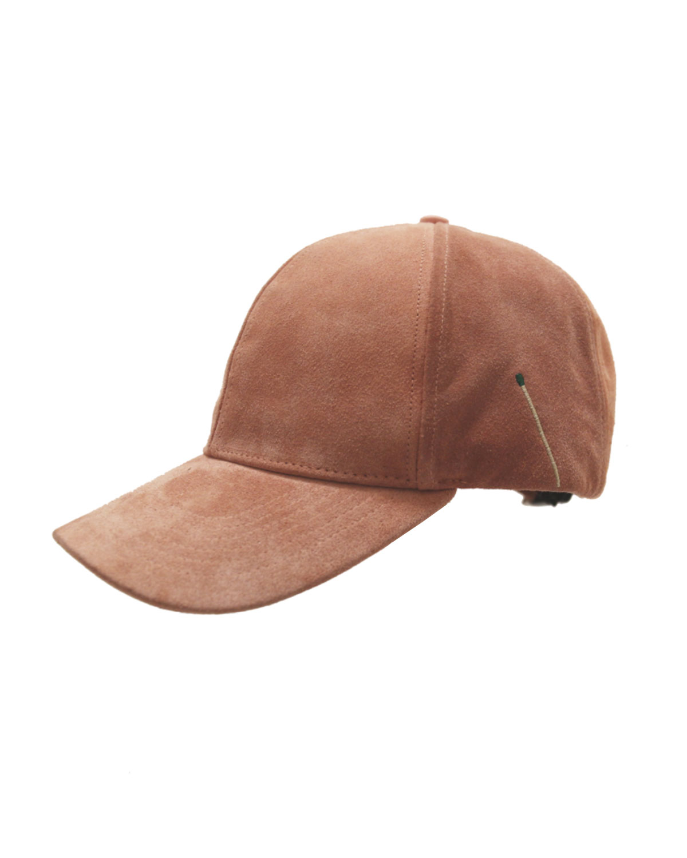 Nick Fouquet Accessories SUEDE BASEBALL CAP